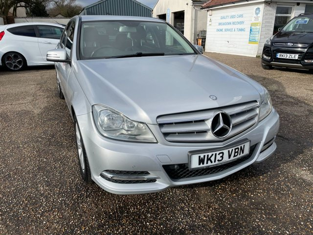 USED 2013 13 MERCEDES-BENZ C-CLASS 2.1 C220 CDI BLUEEFFICIENCY EXECUTIVE SE 4d 168 BHP