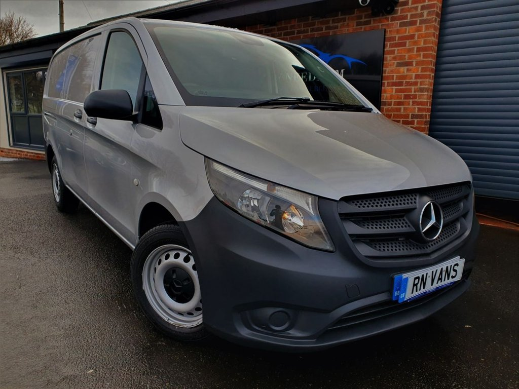 USED 2016 16 MERCEDES-BENZ VITO 1.6 111 LONG CDI 114 BHP *** A/C - REV CAM - RACKING ***
