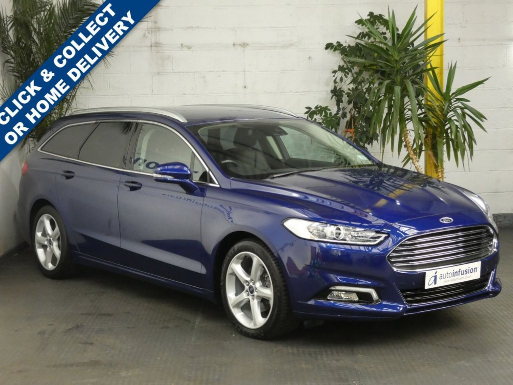 USED 2017 67 FORD MONDEO 2.0 TITANIUM EDITION 5d 238 BHP SAT NAV LEATHER HEATED SEATS FSH 1 OWNER