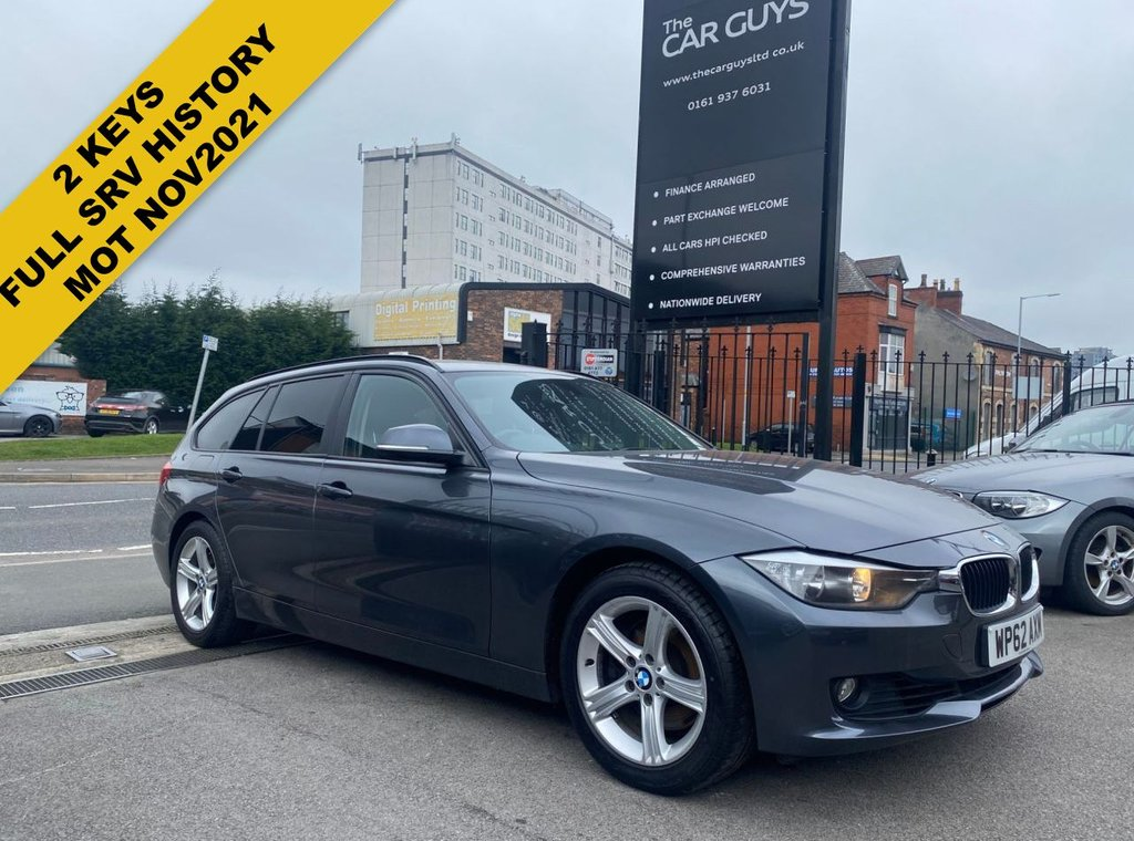 USED 2012 62 BMW 3 SERIES 3.0 330D SE TOURING 5d 255 BHP