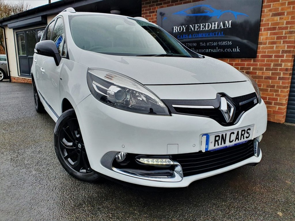 USED 2016 65 RENAULT GRAND SCENIC 1.5 DYNAMIQUE NAV BOSE PLUS DCI 5DR 110 BHP * GREAT SPEC - AUTOMATIC - 7 SEATS *