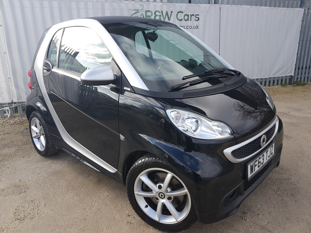USED 2013 63 SMART FORTWO 1.0 PULSE MHD 2d 71 BHP