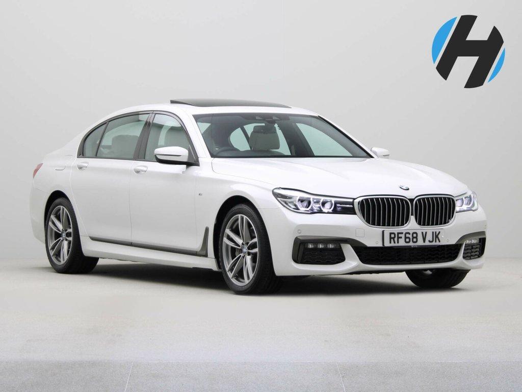 USED 2018 68 BMW 7 SERIES 3.0 740LD XDRIVE M SPORT