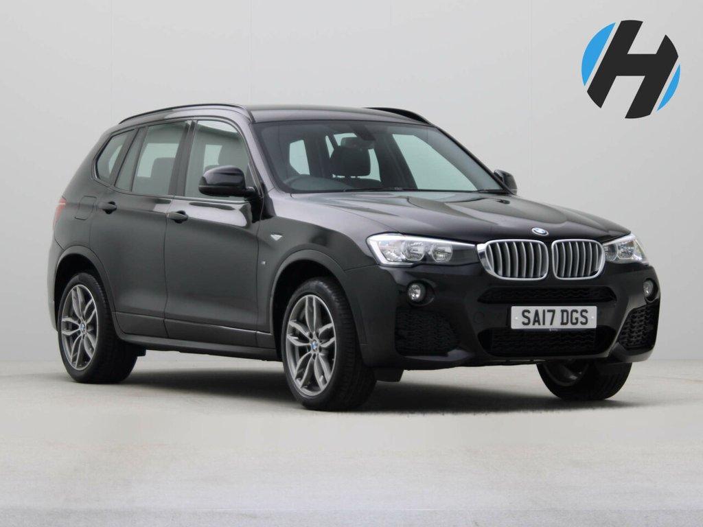 USED 2017 17 BMW X3 3.0 XDRIVE 30D M SPORT