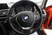 USED 2017 17 BMW 1 SERIES 2.0 118D SPORT 5d 147 BHP SAT/NAV, BLUETOOTH, DAB, TINTED GLASS, DIAMOND CUT ALLOYS, SUNSET ORANGE, BLACK PACK, LOW MILES...