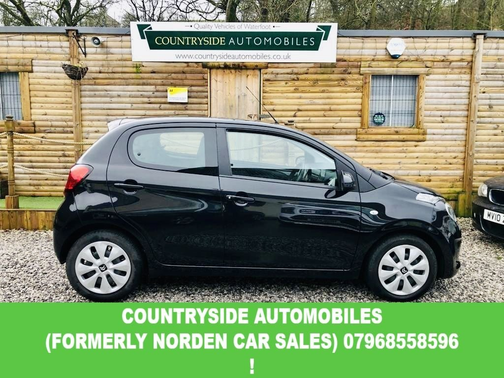 USED 2016 16 CITROEN C1 1.2 PURETECH FEEL 5d 82 BHP Stunning low mileage example with Citroen plus one owner from new, full service history with 3 stamps in book  @ 9042 miles, @ 17381 miles @ 23900 miles and will be done again prior to delivery by ourselves. Touch screen media with bluetooth audio, Free road tax and an amazing combined MPG of 66.7. Unmarked example with good specification you'll have to be quick to secure this one !