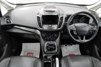 USED 2017 17 FORD C-MAX 2.0 TITANIUM X TDCI 5d 148 BHP SAT/NAV, GLASS ROOF, HEATED LEATHER, DAB, BLUETOOTH, CRUISE, FRONT / REAR PARK....