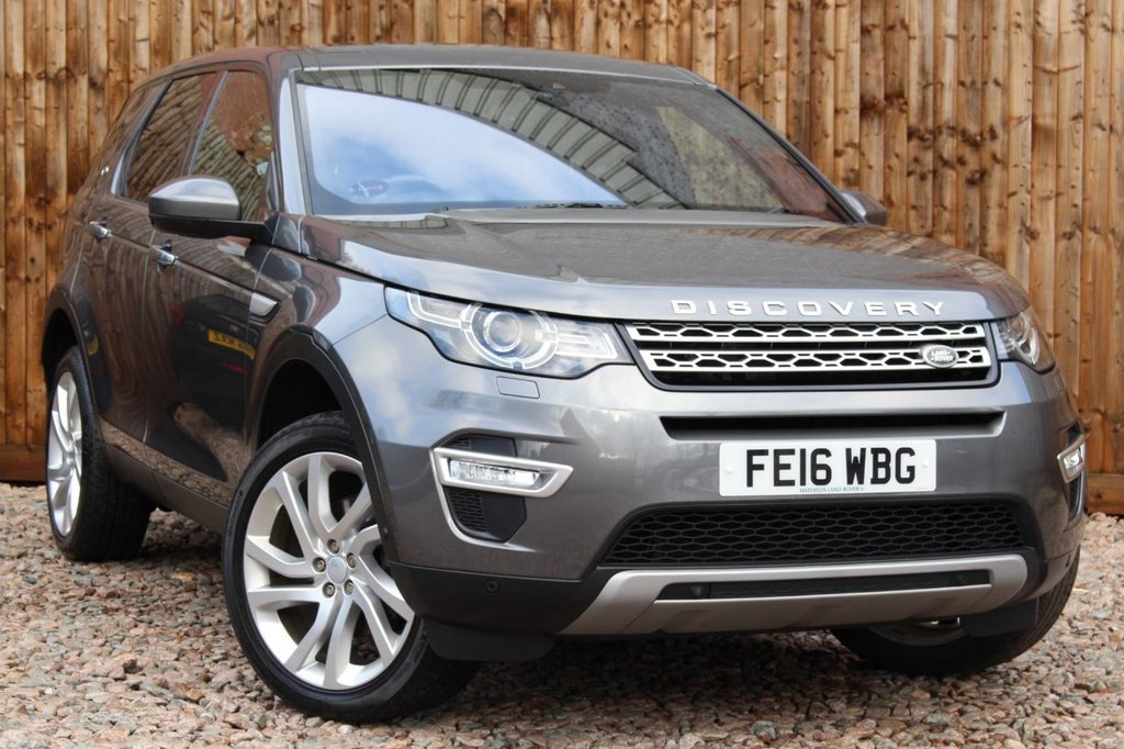 USED 2016 16 LAND ROVER DISCOVERY SPORT 2.0 TD4 HSE Luxury Auto 4WD (s/s) 5dr 7 Seats 1 YEAR WARRANTY + FULL LAND ROVER SERVICE HISTORY + 12 MONTHS MOT