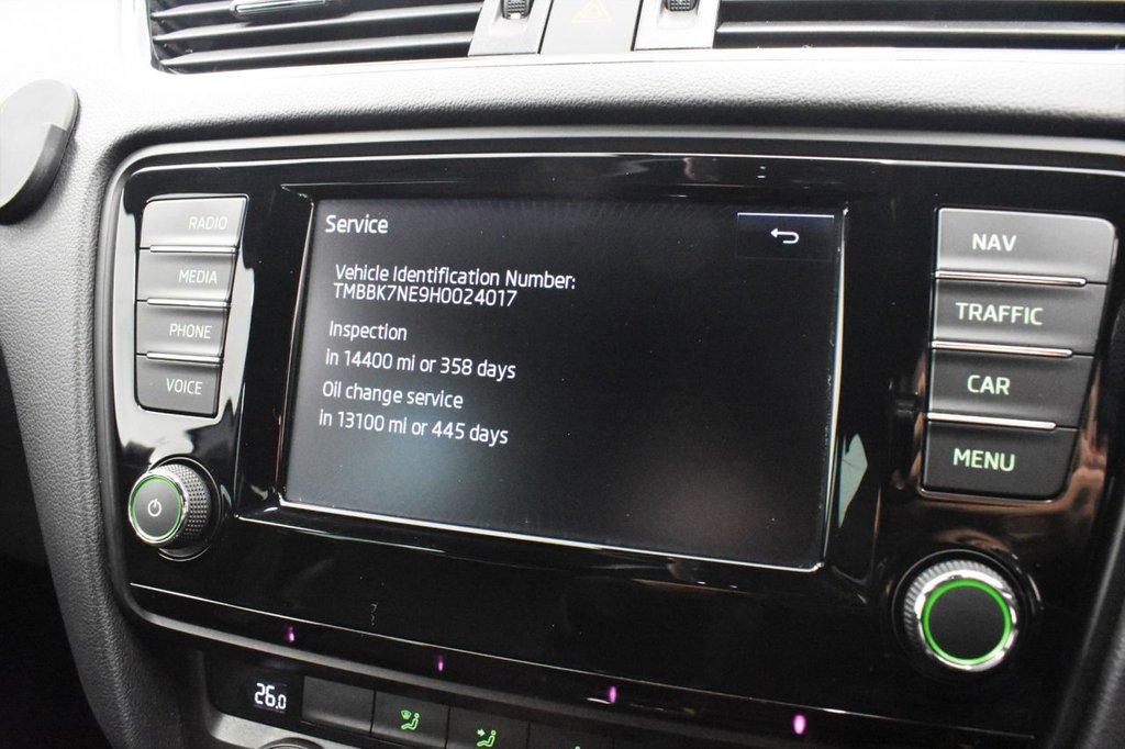 USED 2016 16 SKODA OCTAVIA 2.0 VRS TDI 5 DOOR