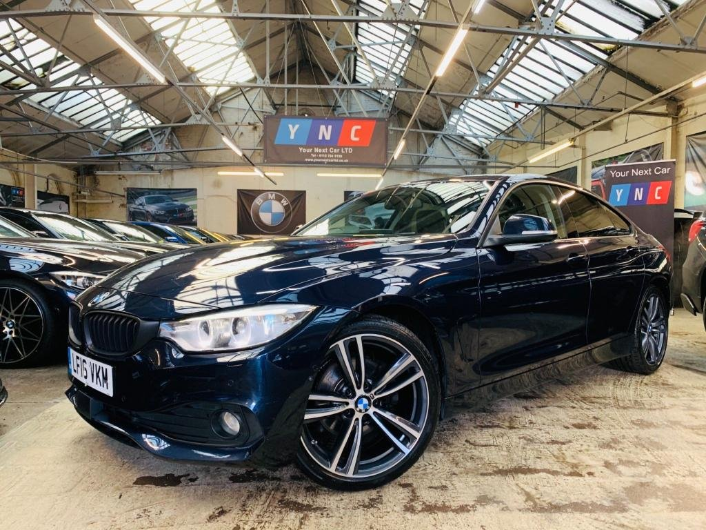 USED 2016 16 BMW 4 SERIES 2.0 420d SE Gran Coupe Auto (s/s) 5dr 19S - 1OWN -RADAR CRUISE-CAMS