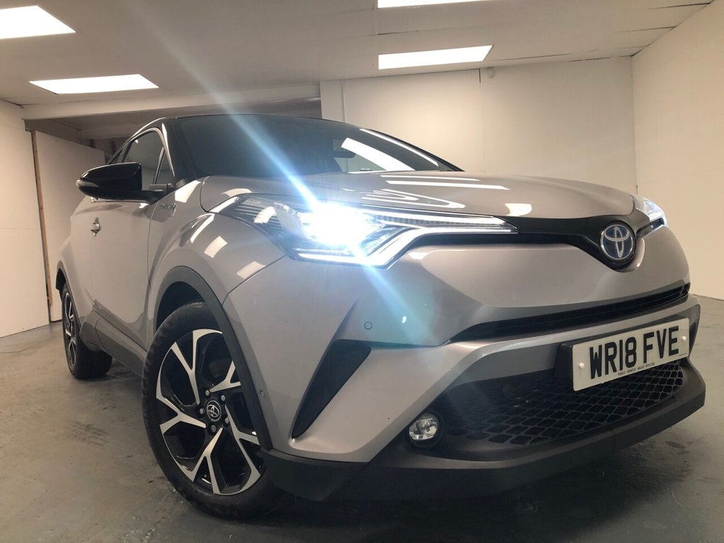 USED 2018 18 TOYOTA CHR 1.8 DYNAMIC 5d 122 BHP £351 a month, T&Cs apply.