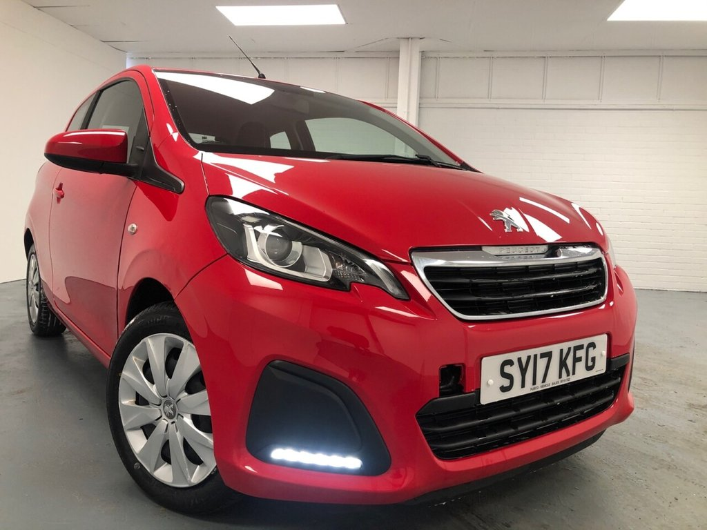 USED 2017 17 PEUGEOT 108 1.0 ACTIVE 3d 68 BHP £106 a month, T&Cs apply.