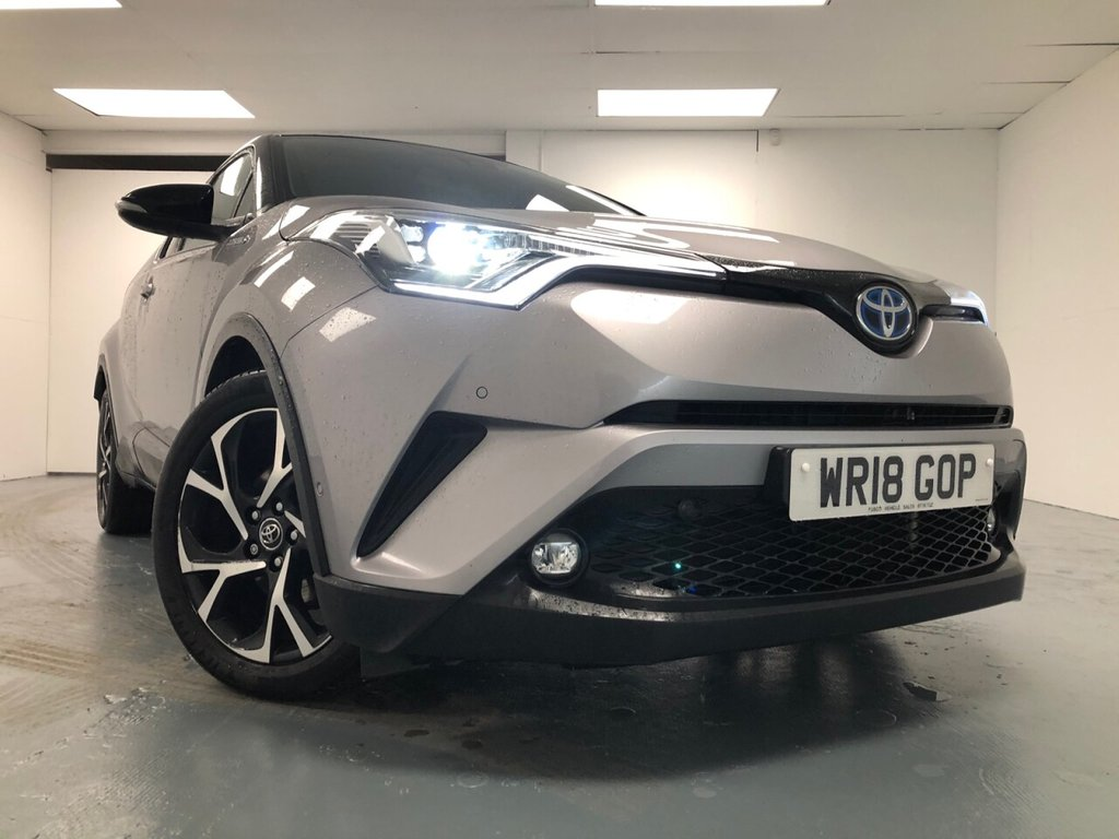 USED 2018 18 TOYOTA CHR 1.8 DYNAMIC 5d 122 BHP £364 a month, T&Cs apply.