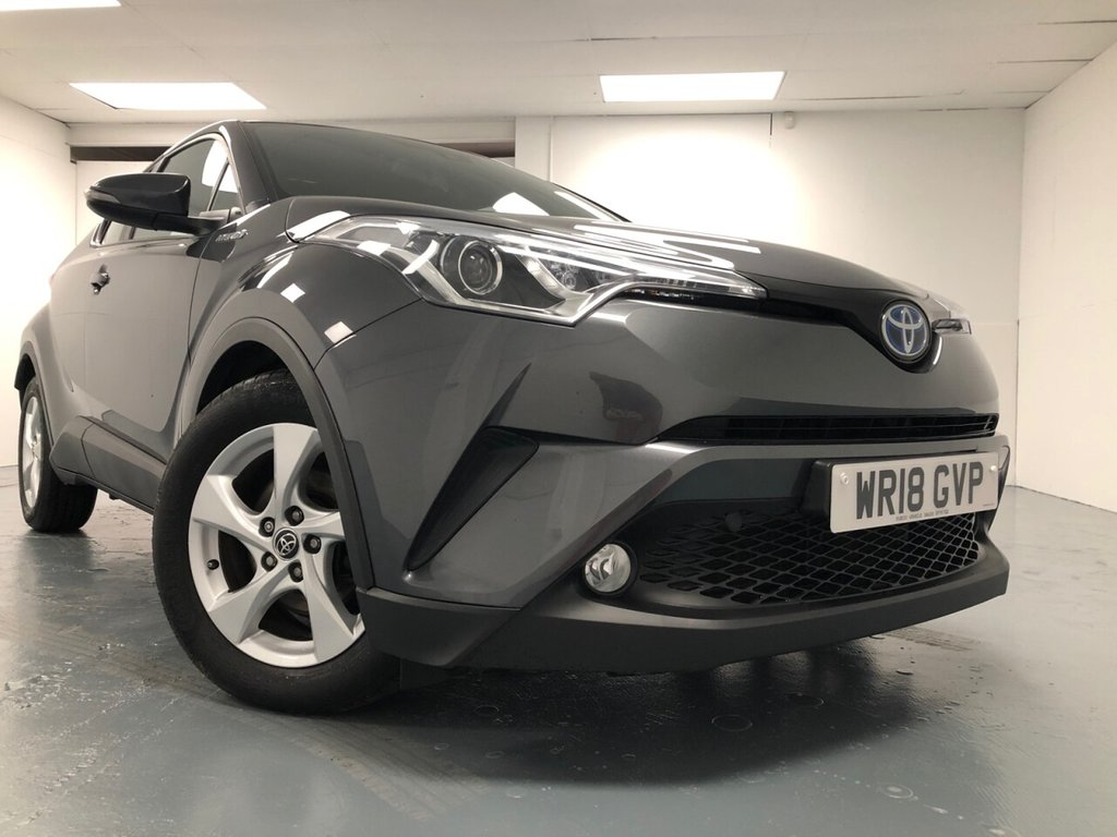 USED 2018 18 TOYOTA CHR 1.8 ICON 5d 122 BHP £311 a month, T&C's apply.
