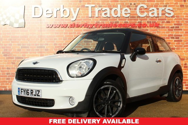 MINI MINI PACEMAN at Derby Trade Cars