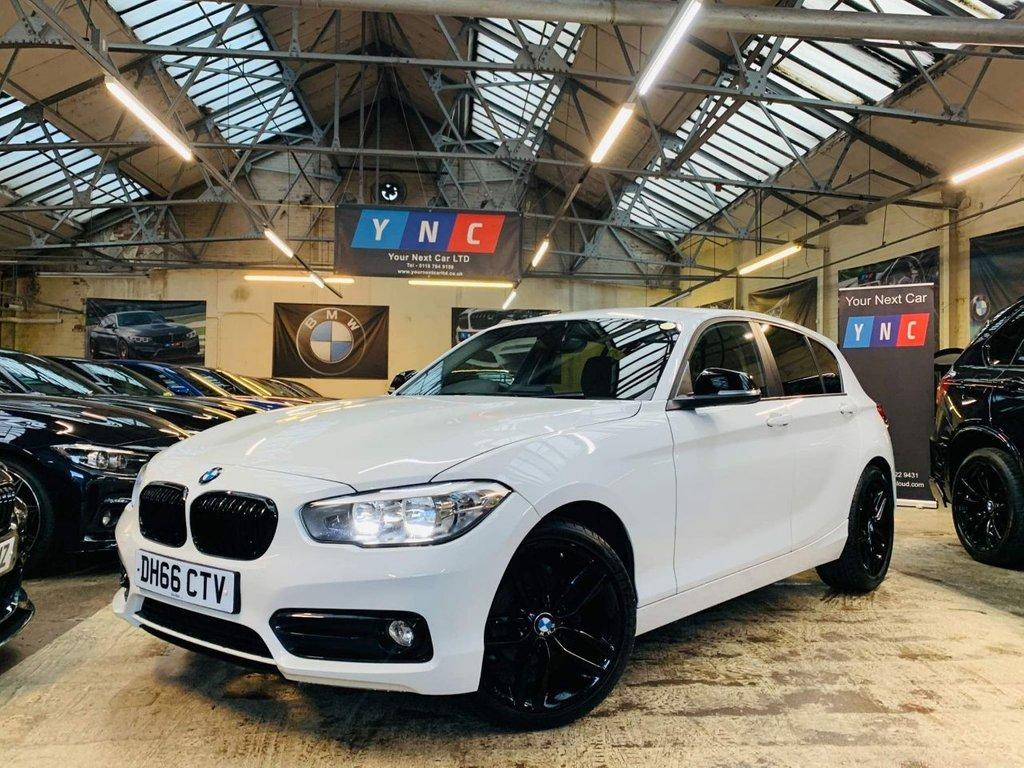 USED 2017 66 BMW 1 SERIES 1.5 116d Sport (s/s) 5dr M SPORT 18S FSH! TIDY CAR