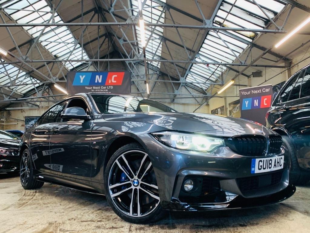 USED 2018 18 BMW 4 SERIES 3.0 435d M Sport Gran Coupe Auto xDrive (s/s) 5dr PERFORMANCE KIT RADAR LEDS!