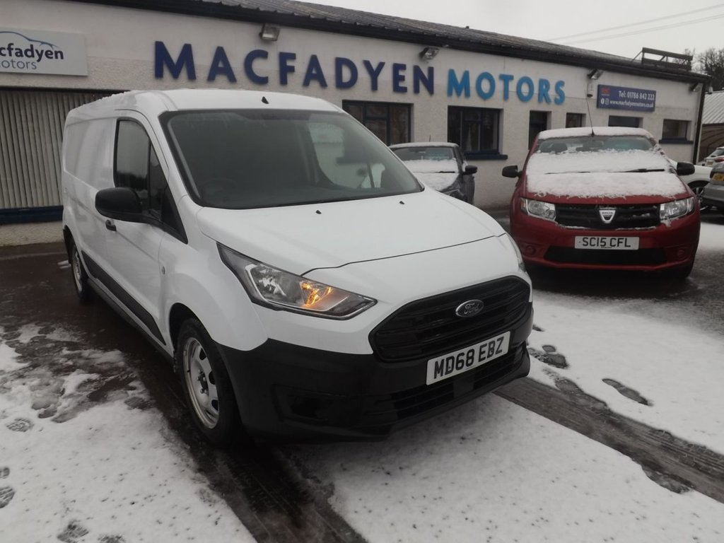 USED 2018 68 FORD TRANSIT CONNECT 1.5 210 BASE TDCI 100 BHP