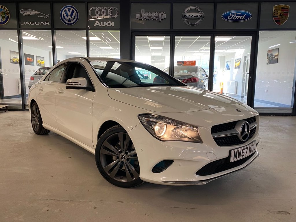 USED 2017 67 MERCEDES-BENZ CLA 1.6 CLA 180 SPORT 4d 121 BHP Complementary 12 Months RAC Warranty and 12 Months RAC Breakdown Cover Also Receive a Full MOT With All Advisory Work Completed, Fresh Engine Service and RAC Multipoint Check Before Collection/Delivery