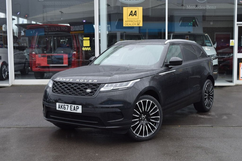 USED 2017 67 LAND ROVER RANGE ROVER VELAR 2.0 CORE 5d 177 BHP FINANCE TODAY WITH NO DEPOSIT - LAND ROVER SERVICE HISTORY
