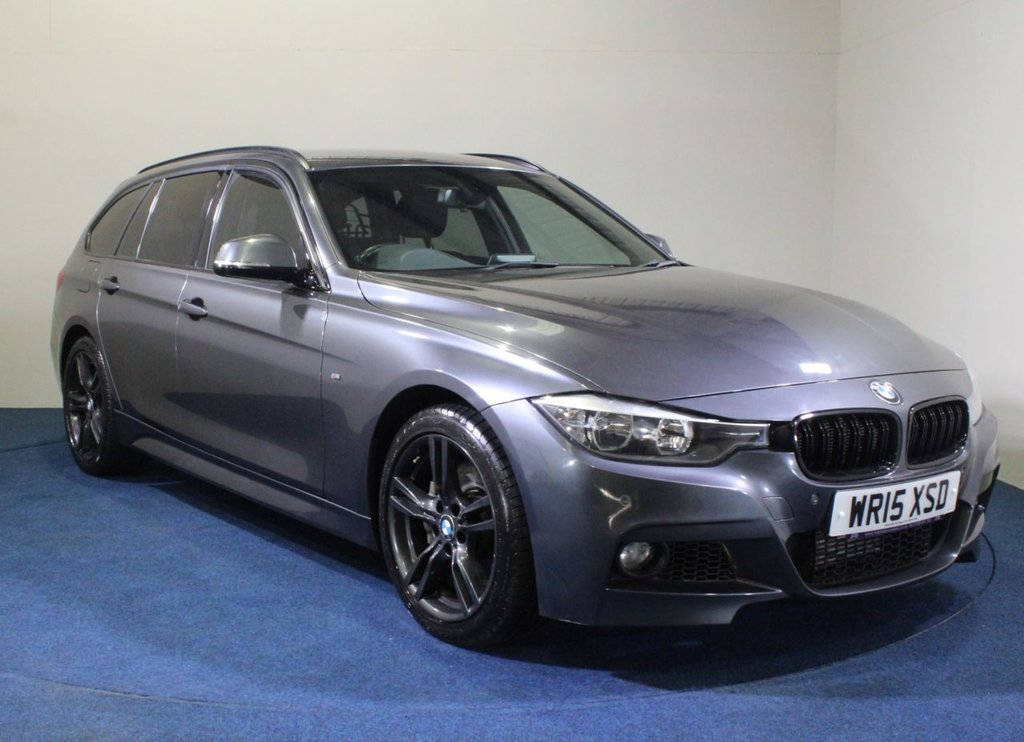 USED 2015 15 BMW 3 SERIES 3.0 335D XDRIVE M SPORT TOURING 5d 309 BHP
