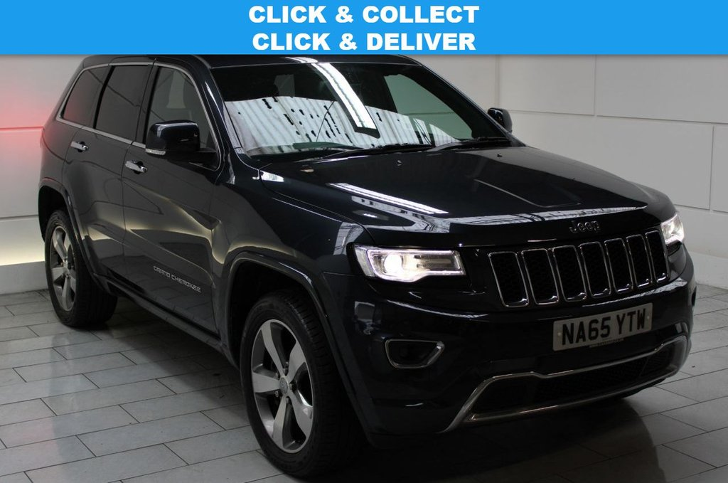 USED 2015 65 JEEP GRAND CHEROKEE 3.0 V6 CRD Overland Auto 4WD