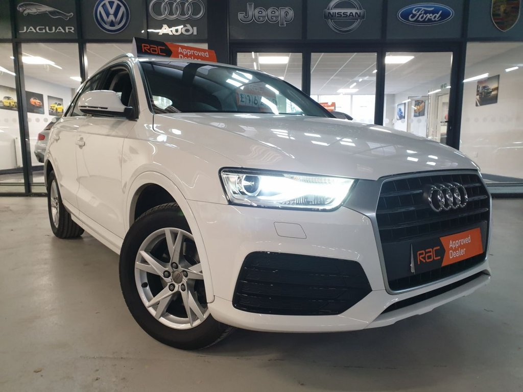 USED 2017 67 AUDI Q3 1.4 TFSI SPORT 5d 148 BHP Complementary 12 Months RAC Warranty and 12 Months RAC Breakdown Cover Also Receive a Full MOT With All Advisory Work Completed, Fresh Engine Service and RAC Multipoint Check Before Collection/Delivery