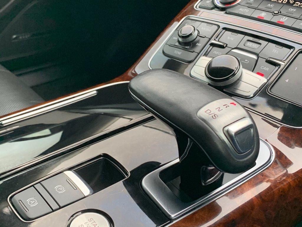 USED 2013 51 AUDI A8 3.0 TDI QUATTRO SPORT EXECUTIVE 4d 247 BHP