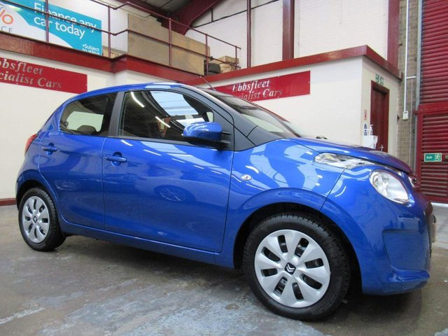 USED 2019 19 CITROEN C1 1.0 VTi Feel 5dr ***ONLY 300 MILES FROM NEW***