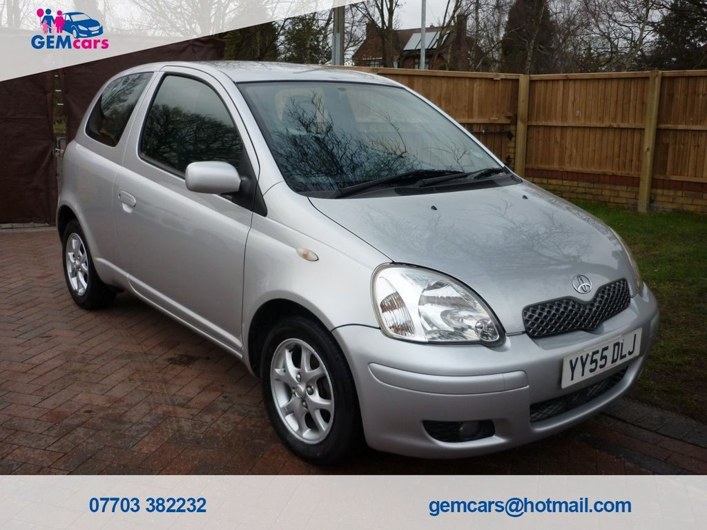 USED 2005 55 TOYOTA YARIS 1.3 COLOUR COLLECTION VVT-I 3d 86 BHP GO TO OUR WEBSITE TO WATCH A FULL WALKROUND VIDEO