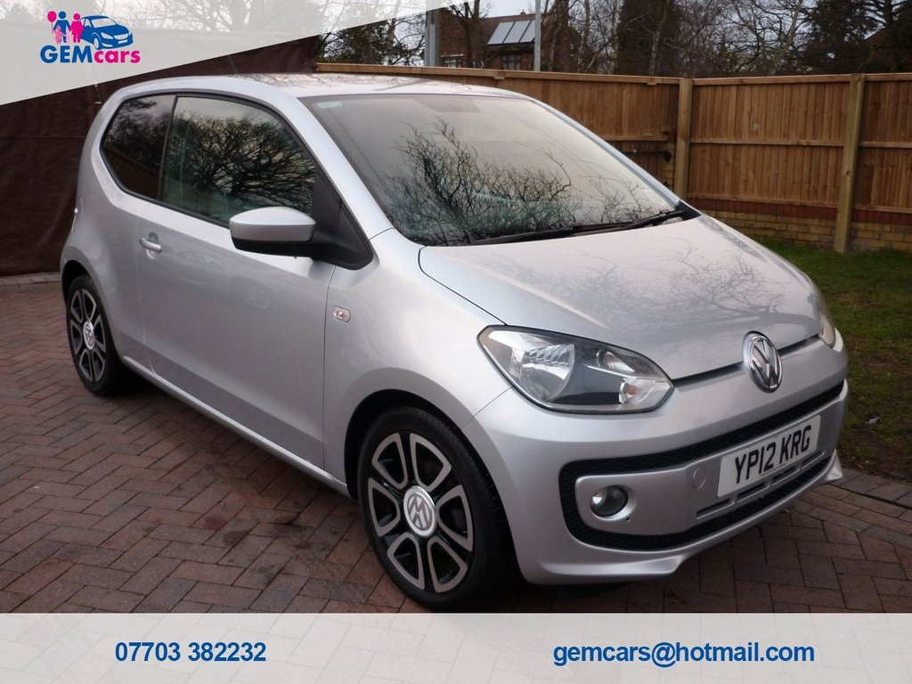 USED 2012 12 VOLKSWAGEN UP 1.0 HIGH UP 3d 74 BHP GO TO OUR WEBSITE TO WATCH A FULL WALKROUND VIDEO