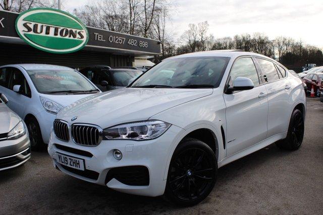 USED 2019 19 BMW X6 3.0 XDRIVE40D M SPORT 4d 309 BHP