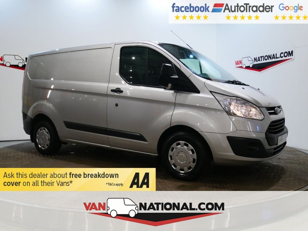 USED 2017 66 FORD TRANSIT CUSTOM 2.0 290 TREND 105 BHP *AIR CON*RACKING*EURO 6* * ONE OWNER * EURO 6 * AIR CON * ZERO DEPOSIT FINANCE AVAILABLE *