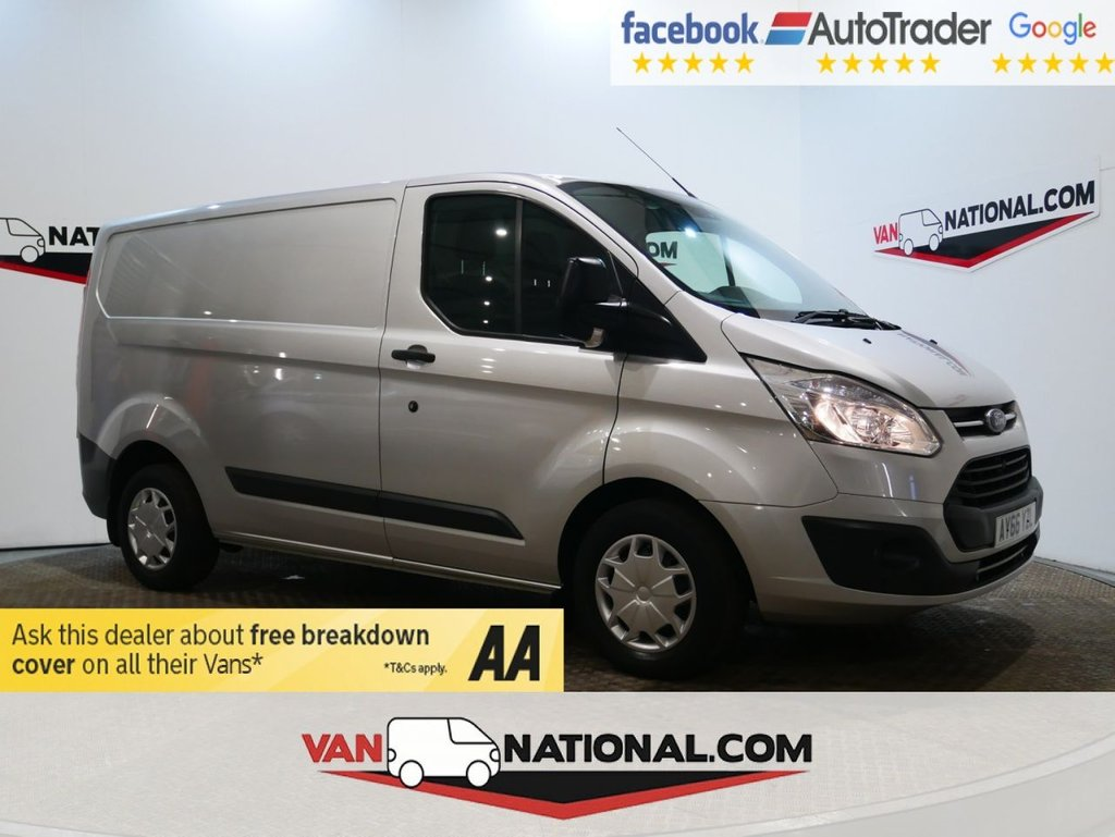 USED 2016 66 FORD TRANSIT CUSTOM 2.0 290 TREND 105 BHP *AIR CON*RACKING*EURO 6* * ONE OWNER * EURO 6 * AIR CON * ZERO DEPOSIT FINANCE AVAILABLE *