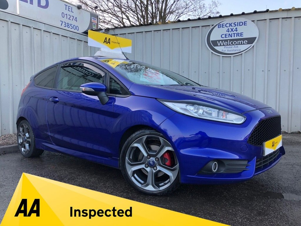 USED 2015 15 FORD FIESTA 1.6 ST-2 3d 180 BHP AA INSPECTED. FINANCE. WARRANTY. MANY EXTRAS