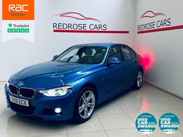 USED 2016 16 BMW 3 SERIES 3.0 335D XDRIVE M SPORT 4d 308 BHP FULL SRVC, 2 KEYS, NICE CAR
