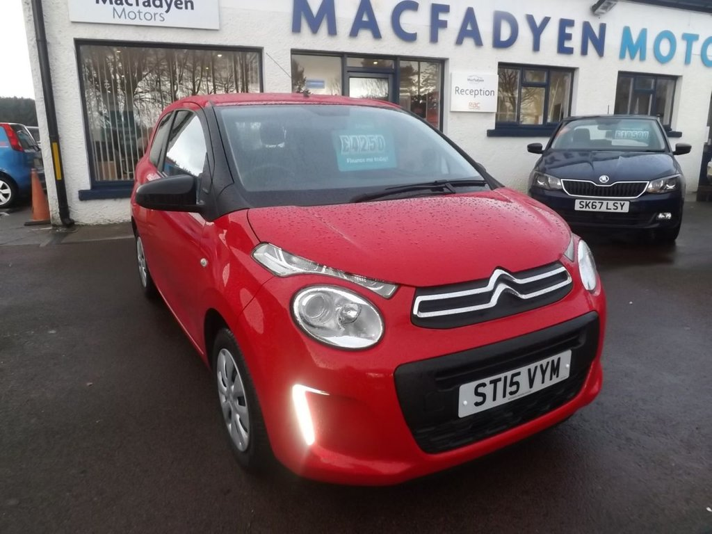 USED 2015 CITROEN C1 1.0 VTi Touch 3dr
