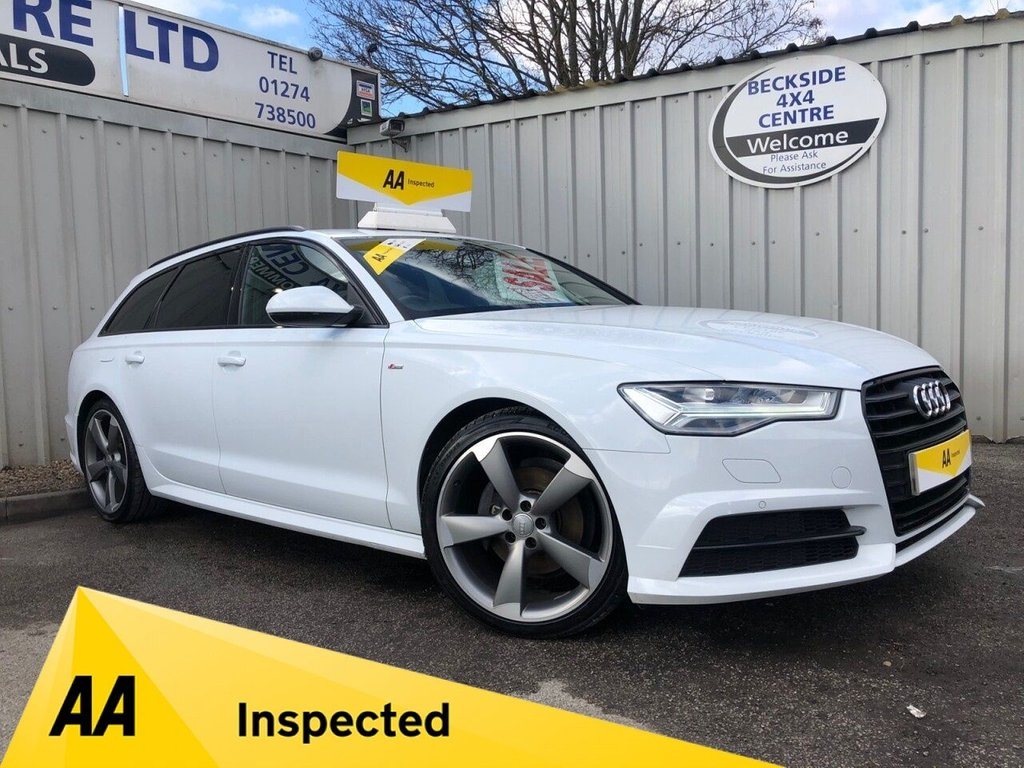 USED 2015 65 AUDI A6 2.0 AVANT TDI ULTRA BLACK EDITION 5d 188 BHP AA INSPECTED. FINANCE. WARRANTY. LOW MILEAGE. MANY EXTRAS