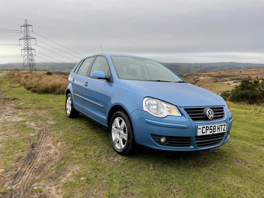 USED 2009 58 VOLKSWAGEN POLO 1.2 MATCH 5d 68 BHP