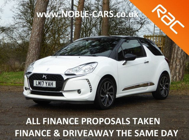 USED 2017 17 DS DS 3 1.2 PURETECH CONNECTED CHIC 3d 80 BHP