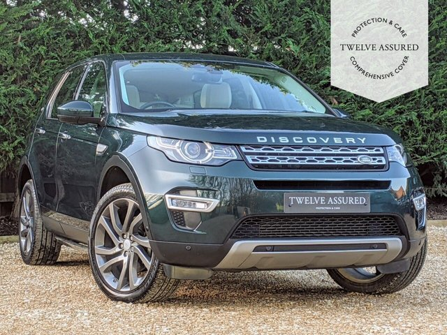 USED 2015 15 LAND ROVER DISCOVERY SPORT 2.2 SD4 HSE LUXURY 5d AUTO 190 BHP (1 OWNER & LAND ROVER HISTORY)