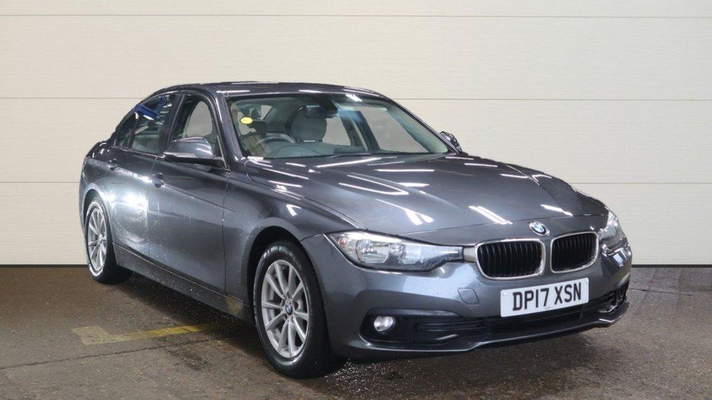 USED 2017 17 BMW 3 SERIES 2.0 320D ED PLUS 4d AUTO 161 BHP +HEATED LEATHER +DAB +SAT NAV.