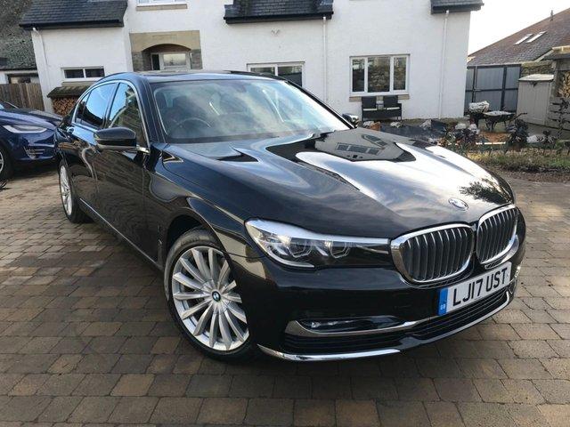 2017 17 BMW 7 SERIES 2.0 740LE XDRIVE EXCLUSIVE 4d 255 BHP