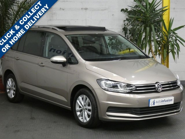 2018 67 VOLKSWAGEN TOURAN 1.6 SE FAMILY TDI BLUEMOTION TECHNOLOGY 5d 114 BHP