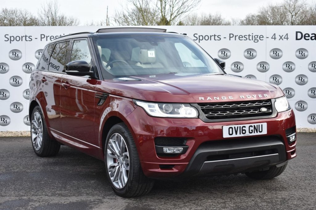 USED 2016 16 LAND ROVER RANGE ROVER SPORT 4.4 SDV8 AUTOBIOGRAPHY DYNAMIC 5d 339 BHP STUNNING
