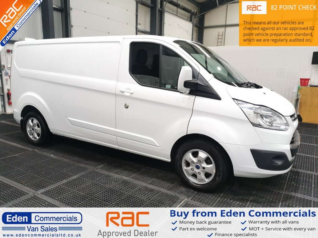 USED 2017 17 FORD TRANSIT CUSTOM 2.0 290 LIMITED LR LWB * HEATED SEATS + AIR CON *