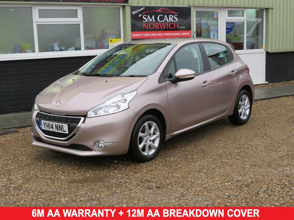 USED 2014 14 PEUGEOT 208 1.4 E-HDI ACTIVE 5d 68 BHP