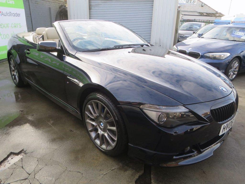USED 2006 06 BMW 6 SERIES 4.8 650I SMG 2d 363 BHP