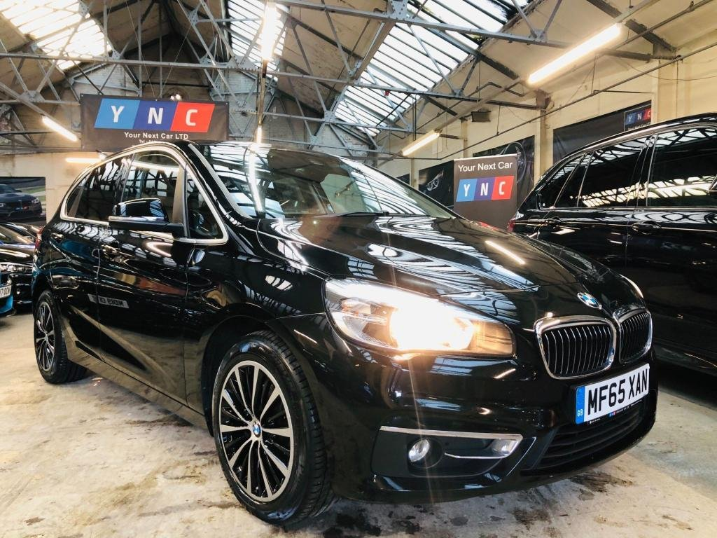USED 2015 65 BMW 2 SERIES 2.0 218d Luxury Active Tourer Auto (s/s) 5dr HEAD UP HTD STS 1 OWNER FSH!