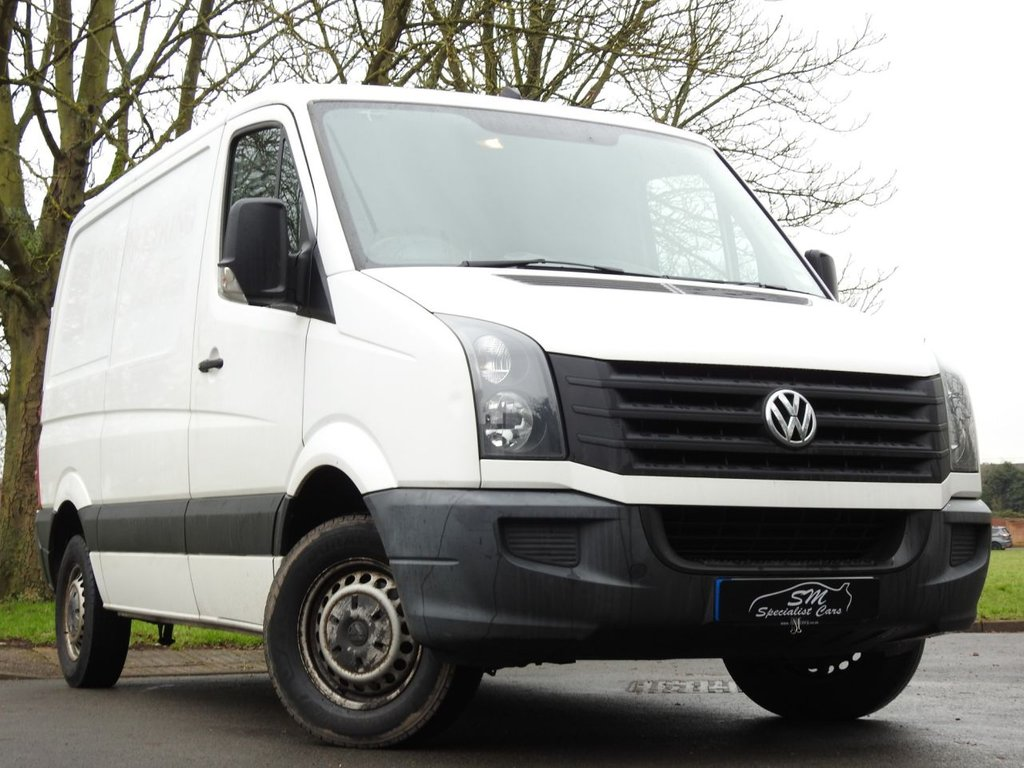 USED 2012 12 VOLKSWAGEN CRAFTER 2.0 CR30 TDI 107 BHP ONLY 57K FROM NEW NO VAT